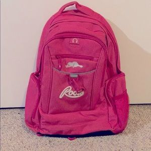 Roots pink backpack